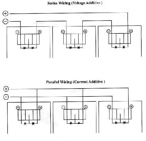 Wiring Fluorescent Lights In Parallel Diagram - Wiring