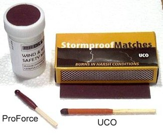 windproof waterproof matches