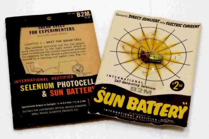 international rectifier solar experimenters kit