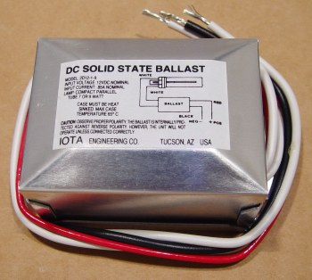iota engineering 2d12-1-9 inverter ballast